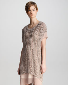 J Brand Ready to Wear Greta Loose-Weave Sweater