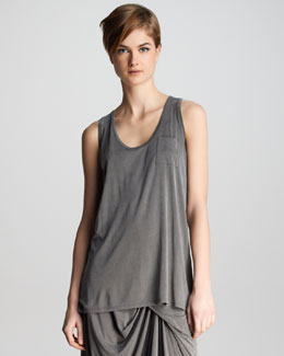J Brand Ready to Wear Kidman Pocket Tank