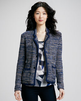 MARC by Marc Jacobs Suze Tweed Sweater