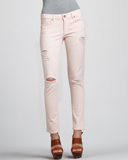 Paige Denim Skyline Ankle Peg Jeans, Blossom
