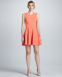 Diane von Furstenberg Jeannie Knit Fit-and-Flare Dress