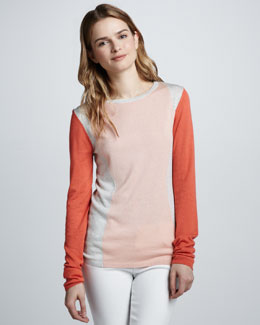 Diane von Furstenberg Alex Colorblock Sweater