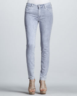 Koral High-Rise Color Spray Midnight Skinny Jeans
