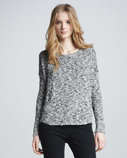 Vince Marbled Knit Sweater