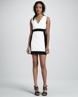Aiko Alexis Chroma Contrast  Dress