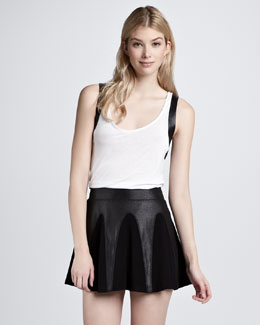 Aiko Vapid Clarice Pleated Skirt