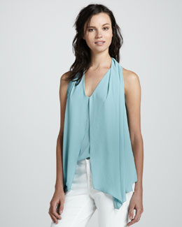Elizabeth and James Grace Jersey Sleeveless Fly-Away Top