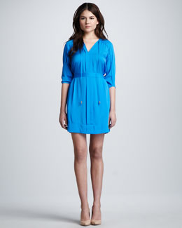 Diane von Furstenberg Apona Tie-Neck Dress