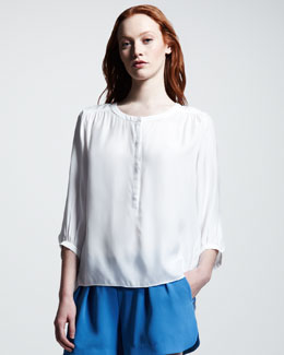 Rag & Bone Pantah Silk Blouse