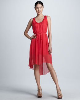 Elie Tahari Harper High-Low Dress