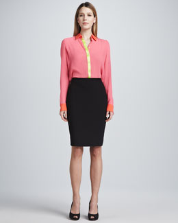Elie Tahari Kim Pencil Skirt