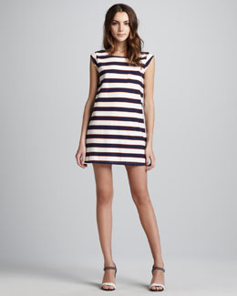 Joie Striped Tee Shift Dress