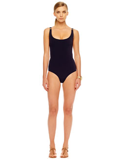 Michael Kors  Ring-Side One-Piece