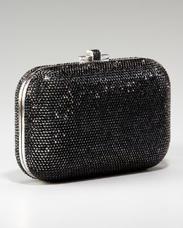 Judith Leiber Beaded Slide-Lock Clutch
