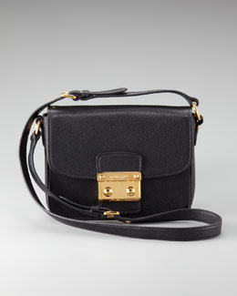 Miu Miu Push-Lock Crossbody Bag