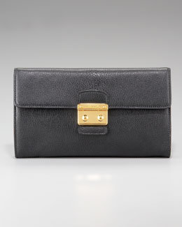 Miu Miu East-West Flap-Top Clutch