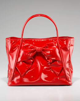 Valentino Lacca Betty Bow Tote