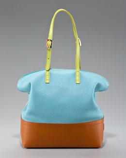 Fendi 2Bag Colorblock Tote
