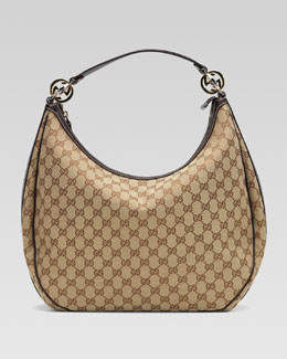 Gucci GG Twins Large Hobo