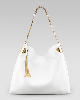 Gucci 1970 Large Shoulder Bag, White