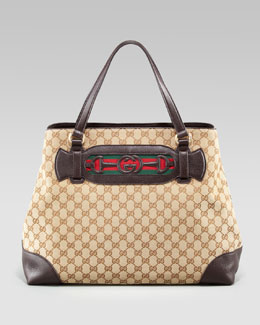 Gucci Dressage Large Tote Bag