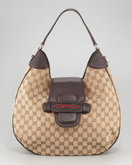 Gucci Dressage GG Hobo Bag, Medium