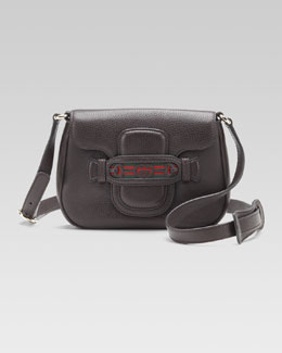 Gucci Dressage Flap Shoulder Bag, Small