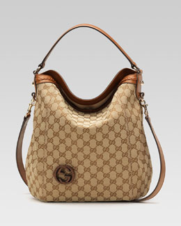 Gucci Brick Lane Hobo Bag, Medium