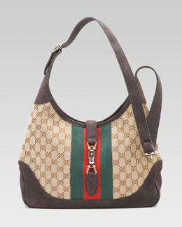 Gucci Jackie GG Shoulder Bag, Medium