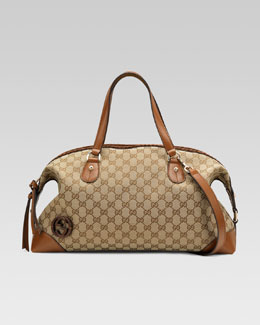 Gucci Brick Lane Top-Handle Tote Bag, Medium