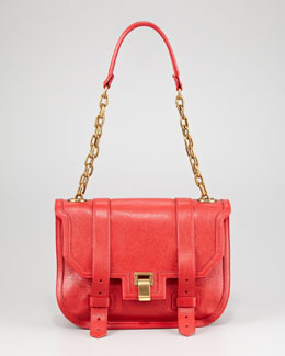 Proenza Schouler PS1 Mini Messenger Bag, Red