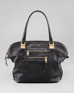 Chloe Angie Lambskin Shoulder Bag