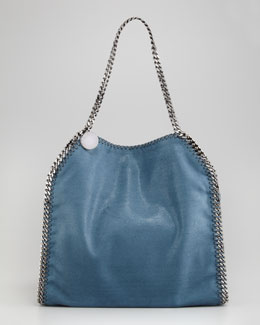 Stella McCartney Metallic Baby Bella Tote Bag