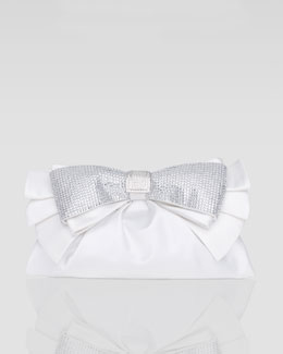 Judith Leiber Valeria Bow Clutch Bag