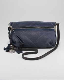 Lanvin Amalia Crossbody Bag Lambskin Bag, Small