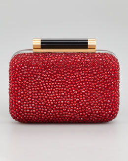 Diane von Furstenberg Tonda Small Crystal Clutch Bag