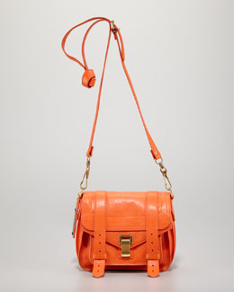 Proenza Schouler PS1 Pouch Shoulder Bag, Orange