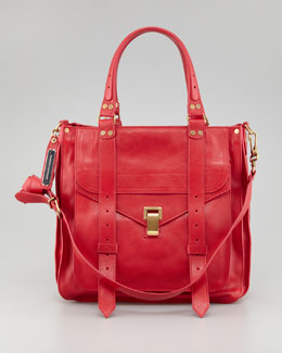 Proenza Schouler PS1 Small Tote Bag, Lipstick