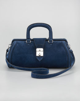 Miu Miu Suede Dr. Bag, Small