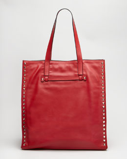 Valentino Rockstud Shopping Tote Bag