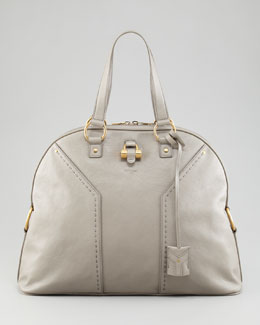 Yves Saint Laurent Muse Oversized Leather Tote Bag