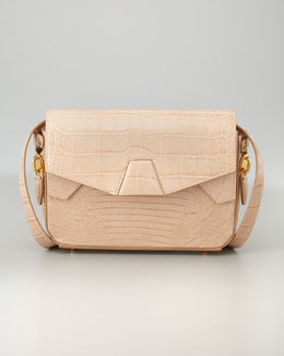 Alexander Wang Tri-Fold Shoulder Bag, Almond