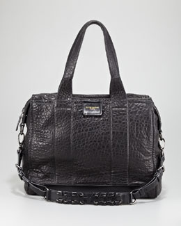 Olivia Harris Iggy Textured Satchel Bag