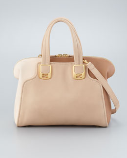 Fendi Chameleon Small Two-Tone Bag, Powder/Makeup