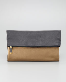 Fendi Chameleon Fold-Over Clutch Bag