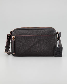 Olivia Harris Camera Crossbody Bag, Black