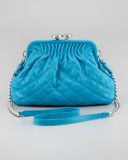 Marc Jacobs Stam Little Quilted Leather Crossbody Bag