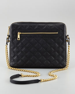 Marc Jacobs Quilted Lambskin iPad Case, Black