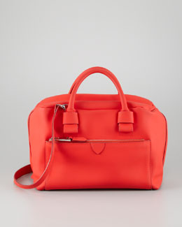 Marc Jacobs Antonia Small Satchel Bag, Red