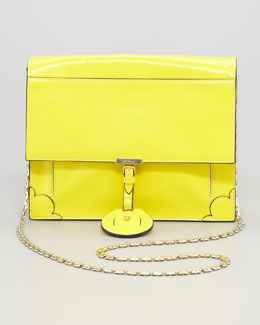 Jason Wu Jourdan Chain Crossbody Bag, Yellow